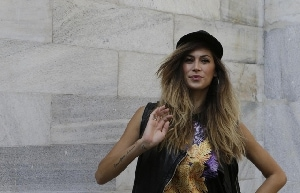 Melissa Satta: bad girl da Just Cavalli