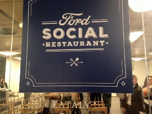 Ford Social Restaurant: le digital dinner per seguire Masterchef