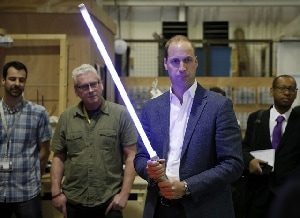 William e Harry recitano in Star Wars?
